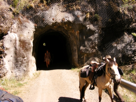Reiten Abenteuer Chile Rio Hurtado